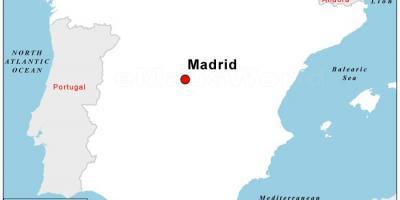 Madrid Mapu Mape Madridu Spanjolska